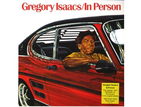 Vinil Gregory Isaacs - In Person
