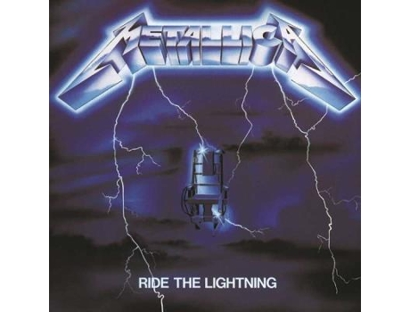 CD Metallica - Ride The Lightning (Remastered 2016) — Pop-Rock