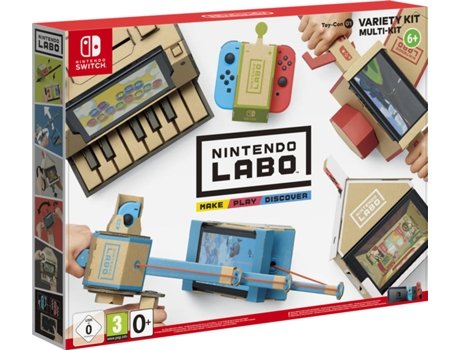 Variety Kit Nintendo Switch Labo (Toy-Con 01) — Nintendo Labo para Nintendo Switch