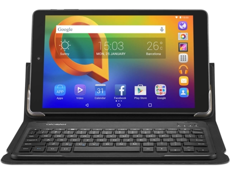 Tablet 10.3'' ALCATEL A3 16GB WIFI com Teclado Preto — 10.3'' | 16 GB | Android 5.1