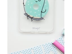 Capa MR. WONDERFUL Donut iPhone 6 Plus, 6s Plus Transparente — Compatibilidade: iPhone 6 Plus, 6s Plus