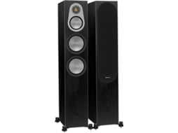 Coluna  MONITOR AUDIO Silver 300 Preto — 200W | 32-35Hz