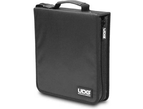 Bolsa CD/LP UDG Ultimate CD 128 Preto — Capacidade: 128 CD's