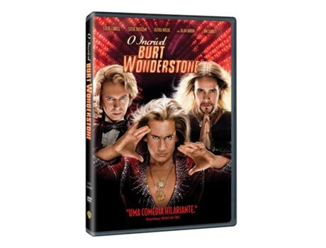 DVD O Incrível Burt Wonderstone — De: Don Scardino | Com: Steve Carell,Steve Buscemi,Jim Carey,Olivia Wilde,James Gandolfini