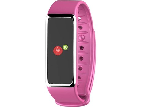 Smartwatch MYKRONOZ ZeFit3 Rosa — Android, iOS e Windows Phone / 80 mAh