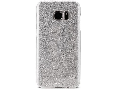 Capa PURO Shine Galaxy S7 Edge Silver — Compatibilidade: Galaxy S7 Edge