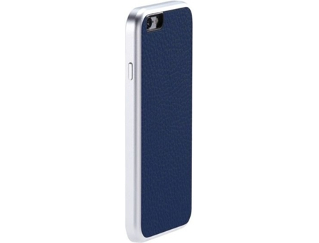 Capa JUST MOBILE Leather iPhone 6/6S Azul — Capa / iPhone 6/6S