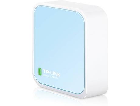 Router TP-LINK TL-WR802N Nano (N300 - Wi-Fi - 300 Mbps)