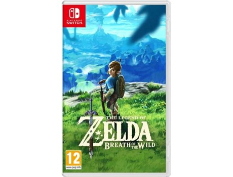Jogo Nintendo Switch The Legend of Zelda: Breath of the Wild — Ação/Aventura / Idade mínima recomendada: 12