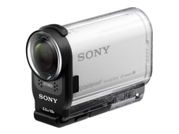 Action Cam SONY AS200V Kit Branco — Full HD