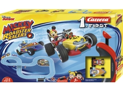 Pista de Carros CARRERA Mickey and the Roadster Racers — 3,5 m | Inclui 2 carros