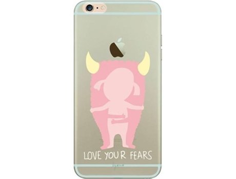 Capa TAN TAN FAN Lyona Fears iPhone 6 Plus, 6s Plus Rosa — Compatibilidade: iPhone 6 Plus, 6s Plus