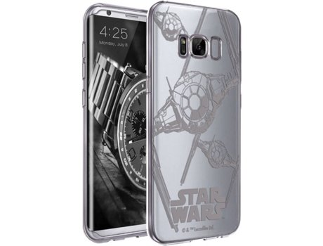 Capa DISNEY Tie Fighter Samsung Galaxy S8 Multicor — Compatibilidade: Samsung Galaxy S8