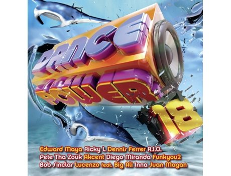 CD Vários-Dance Power 18 — House / Electrónica