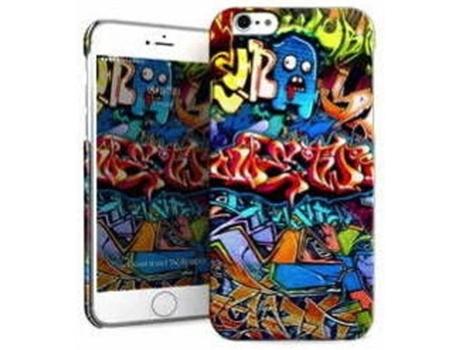 Capa iPhone 6, 6s, 7, 8 I-PAINT Hard Graffiti Multicor
