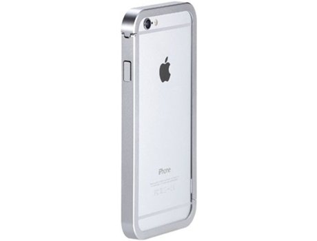 Capa Bumper JUST MOBILE iPhone 6/6S Silver — Bumper / iPhone 6/6S