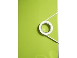 Dossier LEITZ Active WOW 75 mm Verde — Capacidade: 500 folhas A4  | Lombada 75 mm