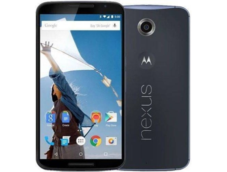 Smartphone MOTOROLA Nexus 6 32 GB Preto — Android 5.0 | 5.9'' | Quad-core 2.7 GHz | 3GB RAM