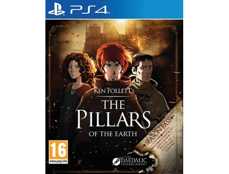 Jogo PS4 The Pillars of the Earth — Ação/Aventura / Idade mínima recomendada: 16