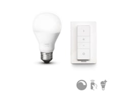 Kit Philips Hue DIM e Comando — Kit Smart Lighting | 9.5W | A60 E27