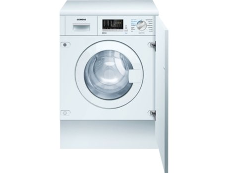 M quina de lavar e secar roupa encastre siemens isensoric for Maquina de segar