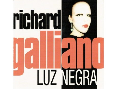 CD Richard Galliano - Luz Negra