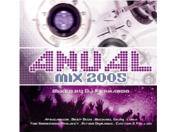CD Vários - Anual Mix 2005 - Mixed By Dj Fernando — Popular