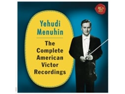 CD Yehudi Menuhin - The Complete American Victor Recordings — Clássica