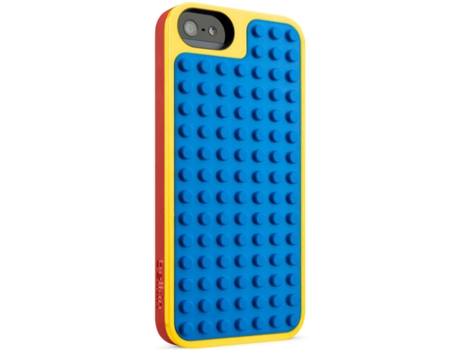 Capa BELKIN Lego Apple iPhone 5, 5s, SE Vermelho — Compatibilidade: iPhone 5, 5s, SE