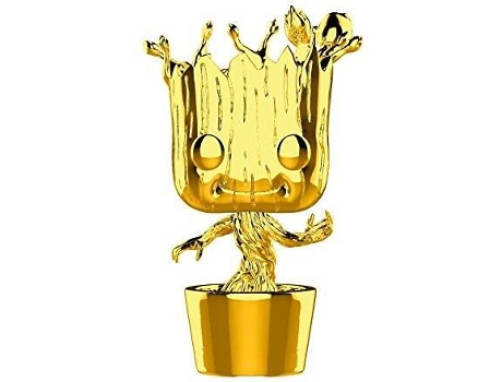 Figura FUNKO Pop Marvel: Marvel Studios 10 - Groot (Chrome) — Marvel