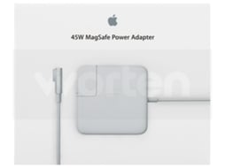 Carregador APPLE MagSafe (MacBook Air - CC Magnético - 45 W) — 45 W | Compatibilidade Macbook Air