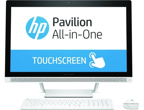 Desktop All-in-One HP Pavilion PC 24-b200np — Intel Core i5-7400T / 4 GB / 1 TB