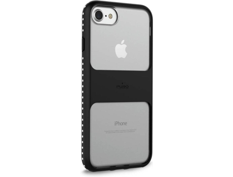 Capa iPhone 6, 6s, 7, 8 PURO Magnet Shield Preto — Compatibilidade: iPhone 6, 6s, 7 ,8
