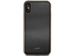 Capa iPhone X, XS MOSHI iGlaze Armour Preto — Compatibilidade: iPhone X, XS