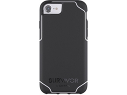 CAPA GRIFFIN JOURNEY IPH8/7/6/6s PRETO/BRANCO — Compatibilidade: iPhone 6/7