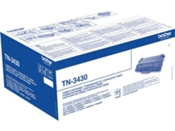 Toner BROTHER TN-3430 Preto — Preto