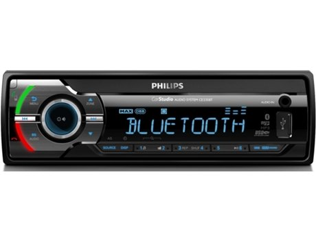 Autorrádio PHILIPS CE235 BT — 50 W / MP3, FLAC, WAV