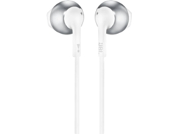 Auriculares Bluetooth JBL T205 BT Chrome em Cinzento — Bluetooth | 20Hz-20kHz
