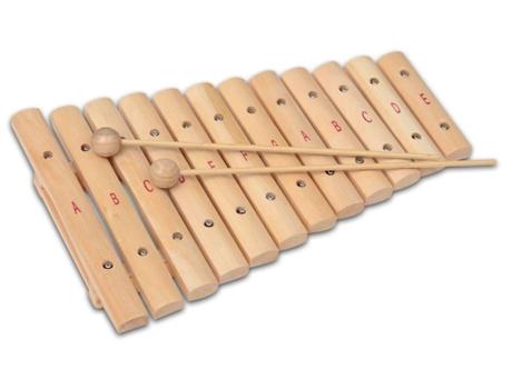 BONTEMPI - Xilofone de Madeira BONTEMPI Infantil Notas ABC