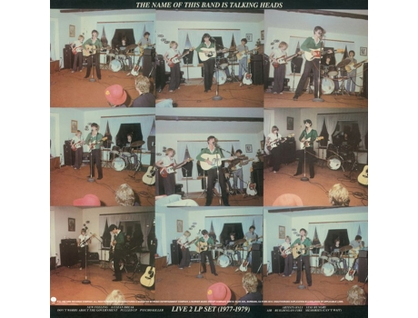 Vinil Talking Heads - The Name Of This Band Is Talking Heads — Alternativa / Indie / Folk
