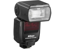 Flash NIKON SPEEDLIGHT SB-5000 — NG: 34,5 e  55 / Compatibilidade: Nikon