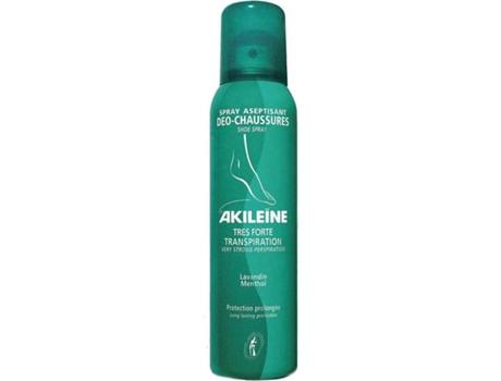 Desodorizante AKILEINE Deo Sapatos Spray Antitranspirante (100ml)