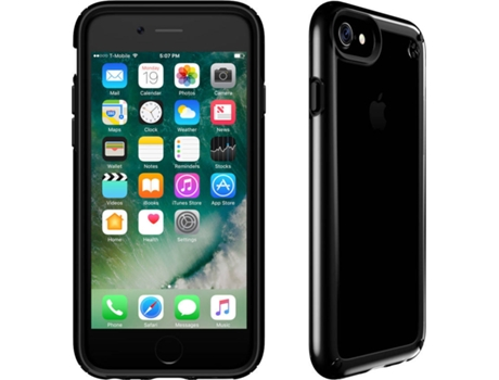 Capa SPECK iPhone 7 Plus Presidio Show Preto Transparente — Compatibilidade: iPhone 7 Plus