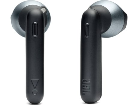 Auriculares Bluetooth True Wireless JBL T220 (In Ear - Microfone - Preto)