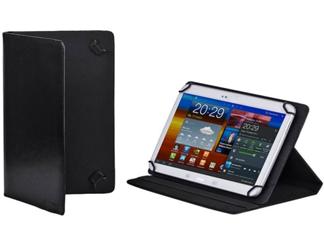 Capa 11.6'' RIVACASE Orly 3009 em Preto — Tablet: Samsung - Series 7 Slate / ATIV Smart PC  XE500 / XE700 / Acer W700 / ASUS-ME400C