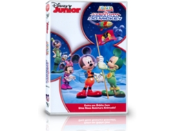 DVD A Casa do Mickey Mouse  - A Aventura — Disney Junior
