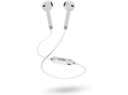 Auricular SBS Branco — Bluetooth