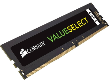 Memória RAM CORSAIR Value 1x8GB DDR4 2400Mhz CL16 — 1x8GB | DDR4 | 2400Mhz