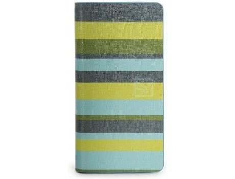 Capa TUCANO  Leggero Stripes iPhone 6, 6s Verde — Compatibilidade: iPhone 6, 6s