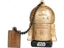 Pen USB TRIBE Star Wars Gold Edit R2-D2 16GB — 16 GB | USB 2.0